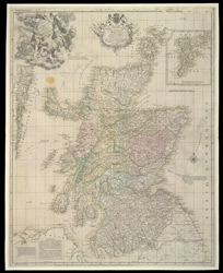 A New and Correct Mercator Map of Northern Britain [or Scotland]